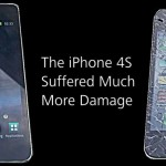 Samsung Galaxy S II shatters iPhone 4S in a drop test