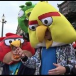 Sponsored Video: Samsung Galaxy Note and Angry Birds at Piccadilly Circus