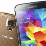Copper Gold Galaxy S5 exclusive in Vodafone UK